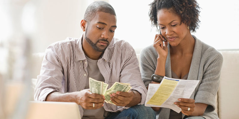 financial troubles in marriage